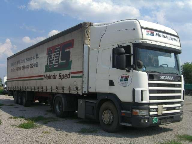 Scania R 124 LA 4*2