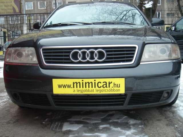 Audi A6 2.5 TDI 6Gang kézi váltó